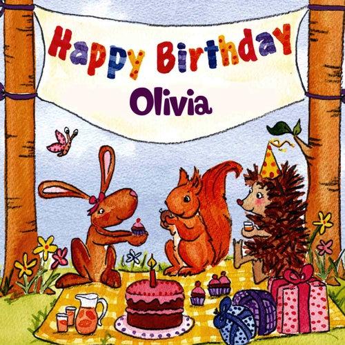 Happy Birthday Olivia By The Birthday Bunch