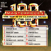 100 Masterpieces, Vol.4 - The Top 10 Of Classical Music: 1788 - 1810 by Various Artists