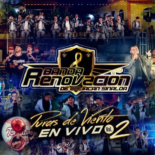 Puras De Viento En Vivo, Vol. 2 by Banda Renovacion