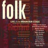 Folk Live From Mountain Stage by Various Artists