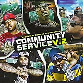 CoopDVille & Siccness.net Present Community Service, Vol. 2 von Various Artists