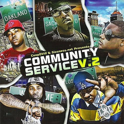 CoopDVille & Siccness.net Present Community Service, Vol. 2 by Various Artists