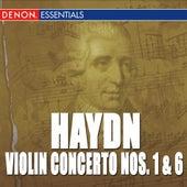 Haydn: Violin Concerto No. 1 - Violin & Piano Concerto No. 6 by Rudolf Barshai