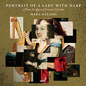 Portait of a Lady with Harp by Mara Galassi