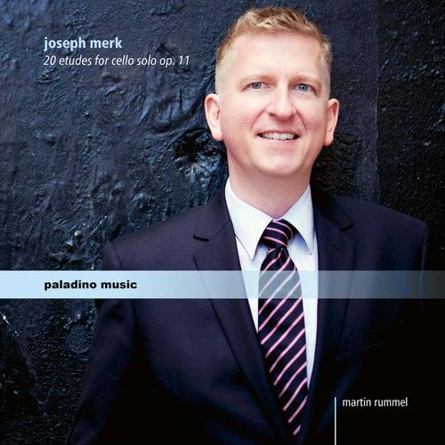 Merk: 20 Études for Cello, Op. 11 by Martin Rummel