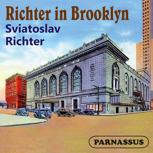 Richter in Brooklyn by Sviatoslav Richter