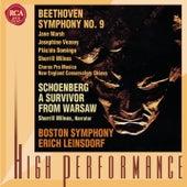 Beethoven: Symphony No. 9 / Schoenberg: A Survivor From Warsaw von Erich Leinsdorf