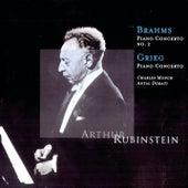 Brahms: Piano Concerto No. 2, Grieg: Piano Concerto by Arthur Rubinstein