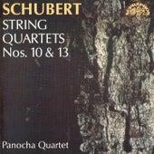 Schubert: String Quartets Nos. 10 & 13 de Panocha Quartet