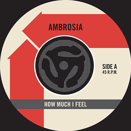 How Much I Feel / Ready For Camarillo [Digital 45] by Ambrosia
