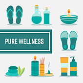 Pure Wellness de Zen Meditation and Natural White Noise and New Age Deep Massage
