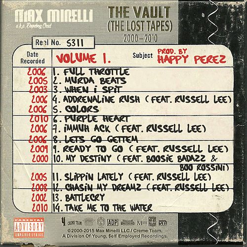 The Vault (The Lost Tapes 2000-2010) by Max Minelli