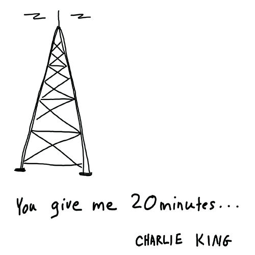 You Give Me 20 Minutes... de Charlie King