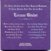 On Johann Sebastian Bach's Life, Art and Work by Lorenzo Ghielmi
