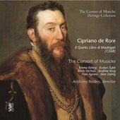 Cipriano de Rore: Il quinto libro di Madrigali (1568) by Anthony Rooley