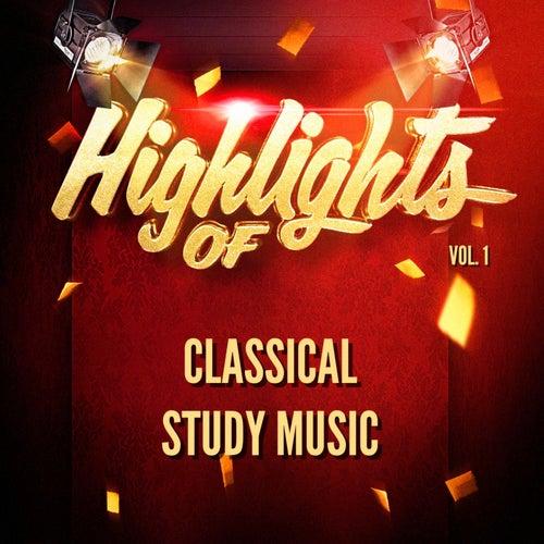 Highlights of classical study music, vol. 1 de Classical Study Music (1)