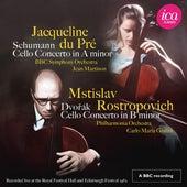 Schumann & Dvořák: Cello Concertos (Live) de Various Artists