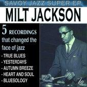 Savoy Jazz Super - EP by Milt Jackson
