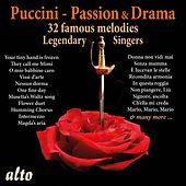 Puccini: Romance & Drama - Legendary Singers by Various Artists