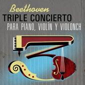 Beethoven Triple Concierto para Piano, Violín y Violonch de Daniel Barenboim, Itzhak Perlman, Yo-Yo Ma