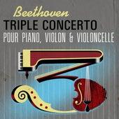 Beethoven Triple concerto pour piano, violon & violoncelle de Daniel Barenboim, Itzhak Perlman, Yo-Yo Ma