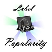 Label Popularity by Various Artists