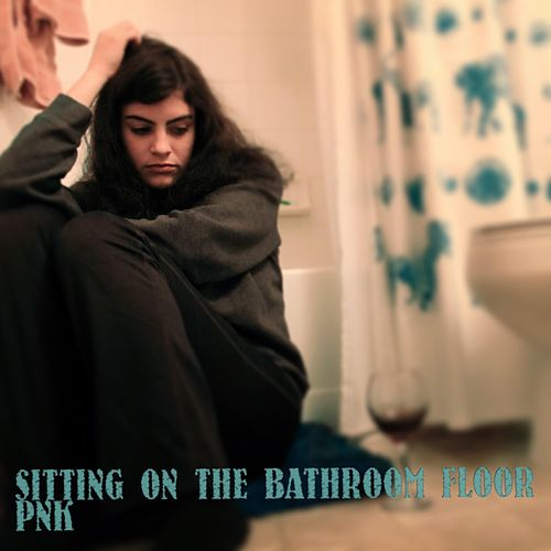 Sitting on the Bathroom Floor von Pink