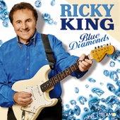Blue Diamonds by Ricky King