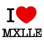 I love MXLLE von Various Artists
