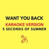 Want You Back (Originally by 5 Seconds of Summer) (Karaoke Version) by JMKaraoke