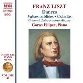 Liszt: Dances by Goran Filipec