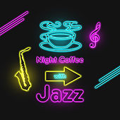 Night Coffee with Jazz (Smooth Jazz and Chill Lounge Blends) de Various Artists