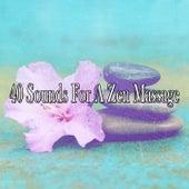 40 Sounds For A Zen Massage von Massage Therapy Music