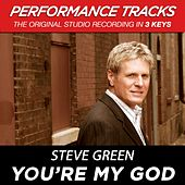 You're My God (Premiere Performance Plus Track) by Steve Green