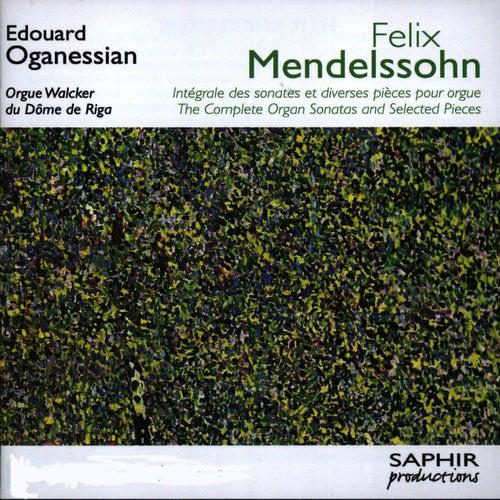 Intégrale Des Sonates Et Diverses Pièces Pour Orgue by Felix Mendelssohn