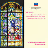 Bach, J.S.: Orchestral Suites Nos. 2 & 3; Cantatas Nos. 45, 67, 101, 105 & 130; Sinfonias from Cantatas Nos. 12 & 31 de Ernest Ansermet