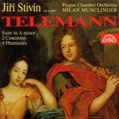 Telemann: Concertos for Solo Recorder by Jiri Stivin