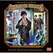 Folge 28: Eine Studie in Scharlachrot (Teil 2 von 2) von Sherlock Holmes - Die geheimen Fälle des Meisterdetektivs