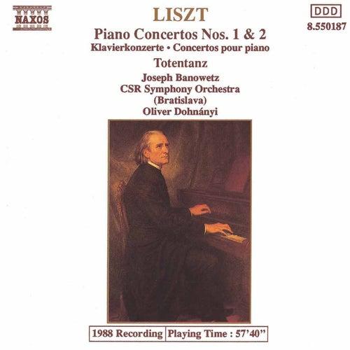 Piano Concertos Nos. 1 and 2 by Franz Liszt