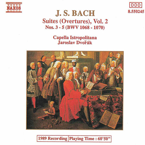 Suites (Overtures) Vol. 2 by Johann Sebastian Bach