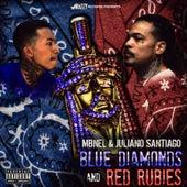 Blue Diamonds & Red Rubies von Juliano Santiago