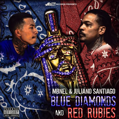 Blue Diamonds & Red Rubies by Juliano Santiago