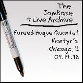 04-14-98 - Martyr's - Chicago, IL by Fareed Haque Group