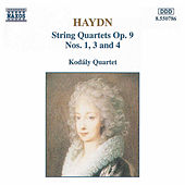 String Quartets Op. 9, Nos. 1, 3 and 4 by Franz Joseph Haydn