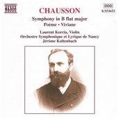 Symphony, Op. 20/Poeme/Viviane de Ernest Chausson