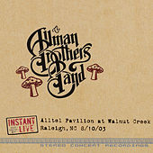 Raleigh, Nc 8-10-03 de The Allman Brothers Band