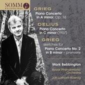 Grieg & Delius: Piano Concertos by Mark Bebbington