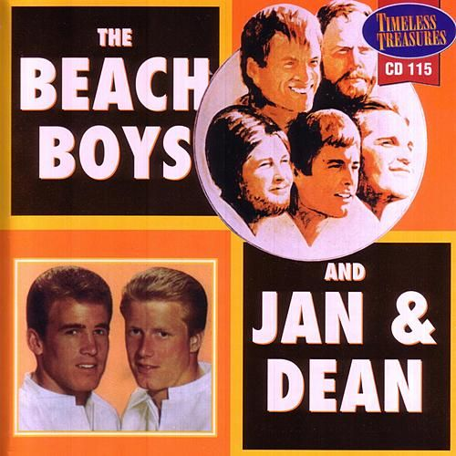 The Beach Boys and Jan & Dean by Various Artists