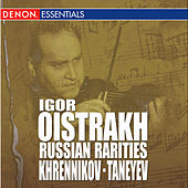Khrennikov: Concerto for Violin & Orchestra No. 2 - Taneyev: Concert Suite, Op. 28 by Various Artists
