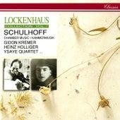Schulhoff: String Quartets Nos. 1 & 2; 5 Pieces; Divertissement; Concertino de Various Artists